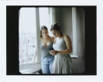 Sarah Mei Herman, Jana and Feby, August, 2016, polaroid, framed, 30 x 30 cm, unique