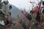Garments in the trees, Zhongnanshan