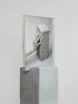 Maura Biava, Parallelepiped #01, 2019 | C-print, perspex, ceramic, wood, plastic | Unique (detail)