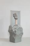 Maura Biava, Zero #12, 2019 | C-print, perspex, ceramic, plastic | 42 x 20 x 20 cm | Unique + 2 AP