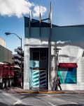 Street in South Beach, 2018, from the series FloodZone | Archival Pigment Print or Dye-Sublimation Print on Metal | 100 x 80 cm and 127 x 100 cm | ed. 5 + AP