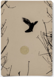 Hans Bol, Untitled #64, negative 1998, printed 2018. Silver gelatin, toning, gold leaf, image size 16,5 x 11,4 cm, framed 40 x 30 cm. Edition 7 + 1 AP