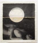 Margaret Lansink, Awake, 2019 | collage printed on Kizuki handmade Washi paper, mended with 23Kt goldleaf | 40.5 x 45 cm | ed. 3 + 2 AP SOLD OUT