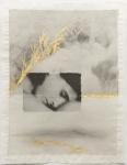 Margaret Lansink, Confidence, 2019 | collage printed on Kizuki handmade Washi paper, mended with 23Kt goldleaf | 28.5 x 22 cm | ed. 3 + 2 AP
