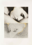 Margaret Lansink, Natsukashii, 2019 | collotype print by Benrido Atelier on handmade Washi paper, reworked by Margaret with 23Kt gold leaf | 56,5 x 41 cm | ed. 2 + 1 AP SOLD OUT