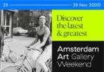 Amsterdam Art Gallery Weekend 2020