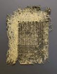Diana Scherer, Bound #4, 2021 | Plantrootweaving in perspex frame | 48 x 38 cm | Unique