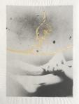 Margaret Lansink, Embrace, 2020 | collage printed on Kizuki handmade Washi paper, mended with 23Kt gold leaf | 29 x 22 cm | ed. 3 + 2 AP