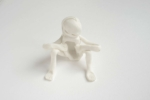 Antoinette Nausikaä, From the series Blanc de Chine porcelain figurines, Dehua 2015   Sculpture, Chinese porcelain   approx. 10 x 10 cm   Part of a larger installation, sold individually   Unique