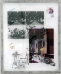 Jaya Pelupessy, Untitled #3 - Manufactured Manual, 2021 | Four colour exposure on the silkscreen | Aluminium silkscreen, plexiglass, wood | 110 x 90 x 5 cm | Unique