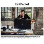 Tanja Engelberts in Het Parool: Rijksakademie Open Studios