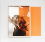 Elsa Leydier, Heatwave Leo from the series Heatwave, 2019 | Pigment print with Lexan plate, framed with  museum glass | 62 x 44 cm (or 62 x 84 when plexiglass is unfolded) | Ed. 5 + 1 AP